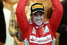 Formel 1 - Alonso von WM-Führung begeistert