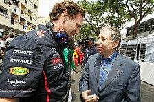 Formel 1 - Todt: Drei Punkte für eine bessere Formel 1