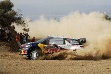 WRC - Radikale Kürzung der Akropolis-Rallye