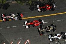 Formel 1 - Brawn: F1 darf kein Glücksspiel werden