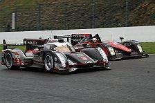 24h von Le Mans - Vortest: Audi mit Vormittags-Bestzeit