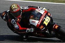 MotoGP - Nur strahlende Gesichter bei Gresini