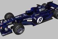 Formel 1 - Williams vorerst im mitternachtsblauen Retro-Outfit!