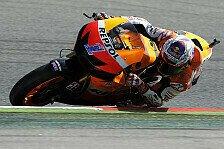 MotoGP - Stoner übernimmt im Trockenen die Spitze