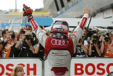 DTM - Erleichterung bei Audi
