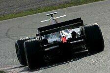 Formel 1 - Geheimer Shakedown für den RB2