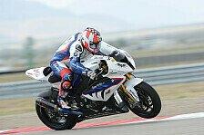 Superbike - BMW nach Test optimistisch für Aragon