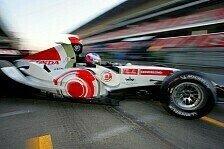 Formel 1 - Testing Time, Tag 3: Button meldete sich mit Bestzeit zurück