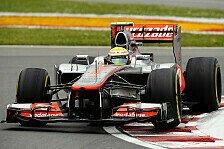 Formel 1 - Hamilton: Kaum Unterschied zwischen Reifen