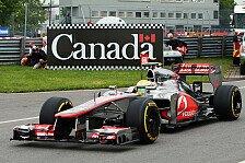 Formel 1 - 2. Freies Training: Hamilton Schnellster