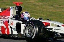 Formel 1 - Testing Time: Honda-Duo beherrscht den Circuit de Catalunya