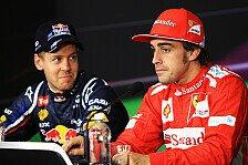 Formel 1 - Vettel rechnet mit Ferrari