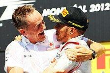 Formel 1 - McLaren lässt Hamilton Tür offen