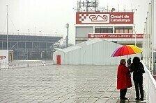 Formel 1 - Barcelona: Regen zwingt Toyota und McLaren zur Aufgabe