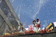 Formel 1 - Bilder: Kanada GP - Podium