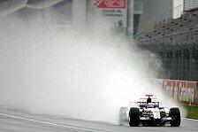 Formel 1 - Testing Time: Verregneter Testabschluss in Barcelona