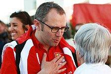 Formel 1 - Domenicali: Keine Tests, keine neuen F1-Stars