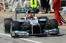 Formel 1 - Schumacher für Marko der Fahrermarkt-Schlüssel