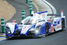 24h von Le Mans - Toyota in Le Mans: Das Podium ist drin