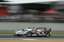 24h von Le Mans - Duval im Warm-up vorne