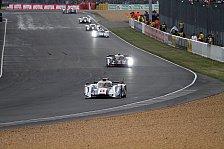24h von Le Mans - Zwischenstand nach einer Stunde