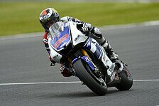 MotoGP - Lorenzo gewinnt zum dritten Mal in Folge