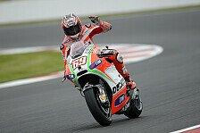MotoGP - Ducati-Duo mit Lichtblicken