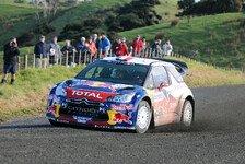 WRC - Top-Piloten gehen auf Nummer sicher