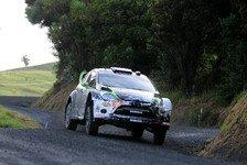 WRC - Ken Block testete mit Latvala