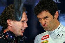 Formel 1 - Webber: Gut, aber es geht besser