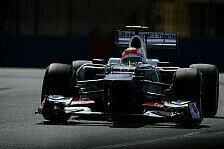 Formel 1 - Sauber: Silverstone müsste C31 liegen