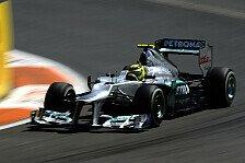 Formel 1 - Rosberg sah sich als 15. im Ziel