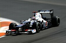 Formel 1 - Kobayashi erlebte gleich zwei Kollisionen
