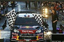 WRC - Loeb jubelt über WM-Vorsprung