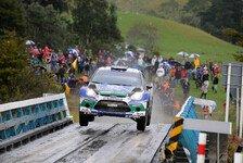 WRC - Ford-Piloten mussten Sieg früh abschreiben