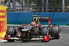 Formel 1 - Renault checkt Lichtmaschinen-Probleme