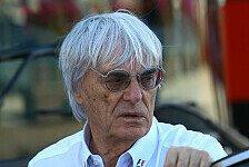 Formel 1 - Ecclestone: Teams sollen Regeln selber machen