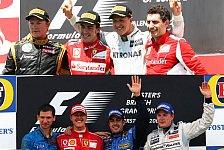 Formel 1 - Ferrari-Podium bewegt Montezemolo zutiefst