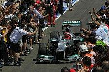 Formel 1 - Ickx: Schumacher fährt auch 2013