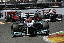 Formel 1 - Schumacher: Entscheidung nicht vor Oktober