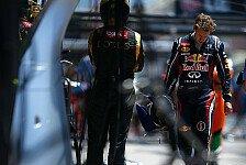 Formel 1 - Stuck: Vettel kein guter Verlierer
