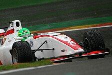 Formel 2 - Mirocha dominiert im Regen