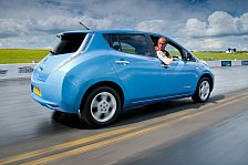 Auto - Nissan LEAF auf Rekordjagd