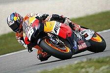 MotoGP - Verregnete Session bringt Pedrosa-Bestzeit