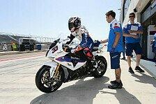 Superbike - Melandri und Haslam zufrieden mit Tests