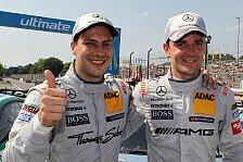 DTM - Paffett und Green: Teamorder beim Finale?