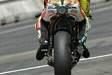 MotoGP - Rossi und Hayden im Nassen gut dabei