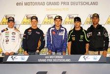 MotoGP - Pressekonferenz am Sachsenring