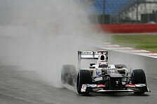 Formel 1 - Sauber trotzt dem Dauerregen