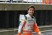 Formel 1 - Bianchi darf am Freitag ran